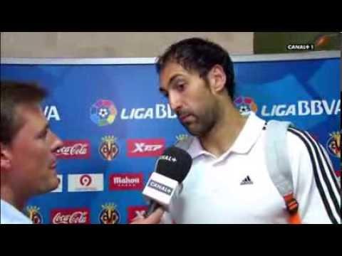 VIllarreal 2 - Real Madrid 2 / Declaraciones de Diego López