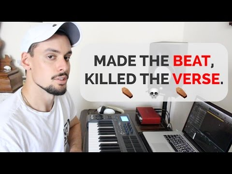 I'M JUST GETTING STARTED. Another beat, more lyrics.