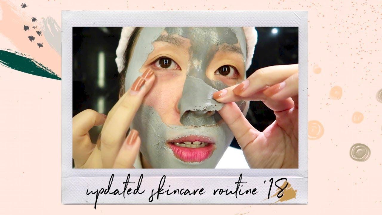 Dưỡng da dầu mụn buổi tối 🌙 + Skincare tip tâm đắc nhất 🍒 | Letsplaymakeup