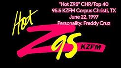 """Hot Z95"" KZFM Corpus Christi, TX - June 22, 1997"