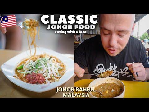 Local Favorite MALAYSIAN Food in Johor Bahru MALAYSIA | JOHOR BAHRU Street Food in Malaysia