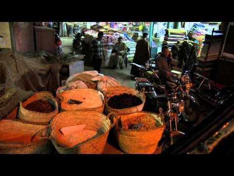 Souk au Caire et Louxor , Egypte ( Full HD )
