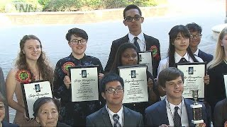 アメリカの高校生による日本語スピーチコンテスト(19/05/26)