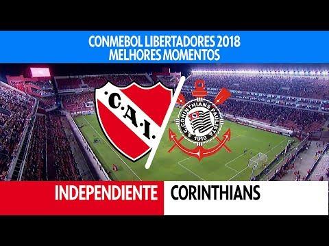 Melhores Momentos - Independiente 0 x 1 Corinthians - Libertadores - 18/04/2018