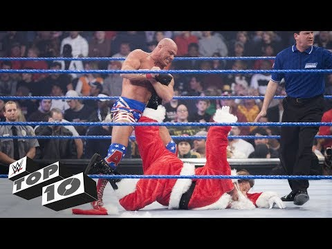 Santa Claus gets stomped: WWE Top 10, Dec. 24, 2018