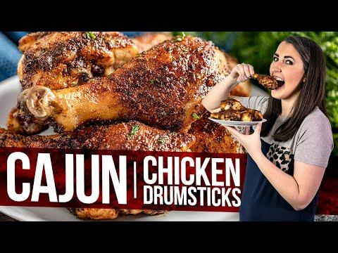 Cajun Chicken Drumsticks