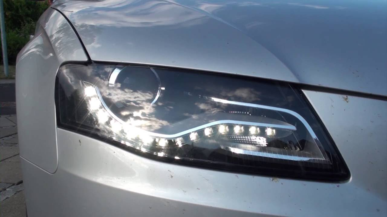 Change Or Remove Headlights On A Audi A4 B8 Youtube