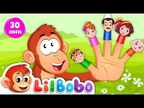 Finger Family Song | Popular Nursery Rhymes and Kids Learning Videos | Cartoon