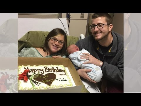 Mom, Dad and Newborn Baby All Share The Same Birthday