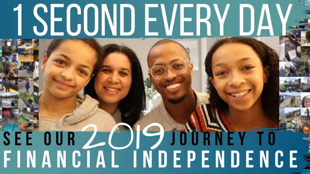 One Second Every Day | Documenting Our Year To Financial Independence and Early Retirement