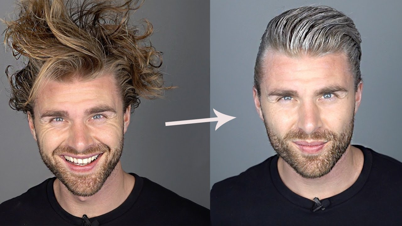 Graue frisur haare mann Undercut Graue