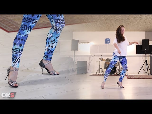 Kizomba Lady Style tutorial - #Footwork #Pivot - Marion Philippe #3 🎓