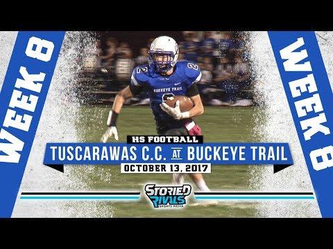 HS Football | Tuscarawas Central Catholic at Buckeye Trail [10/13/17]