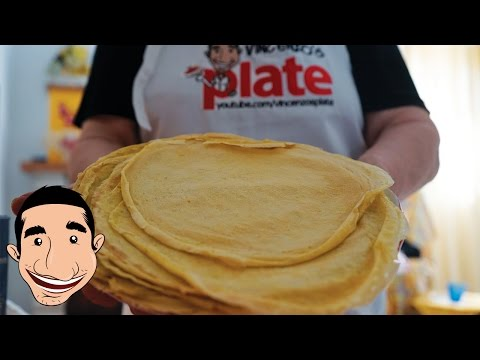HOW TO MAKE CREPES | Italian Grandma Makes Homemade Crepes (SCRIPPELLE)