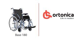 видео Кресло-коляска для инвалидов Ortonica BASE 190
