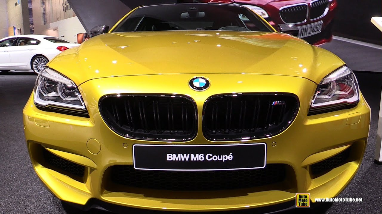 2016 Bmw M6 Coupe Exterior And Interior Walkaround 2015 Detroit Auto Show Youtube
