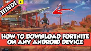 HOW TO DOWNLOAD FORTNITE BATTLE ON ANY ANDROID DEVICE || NO SERVER PROBLEM || NO VERIFICATION ||