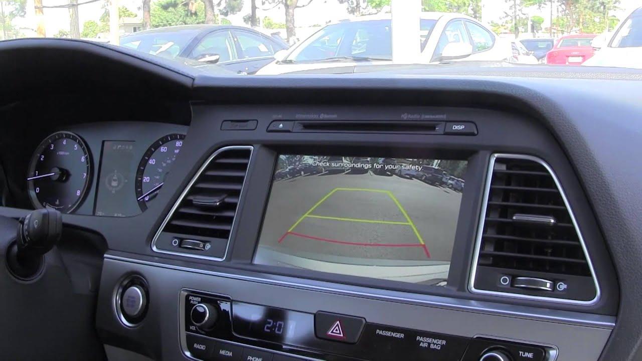 2015 Hyundai Sonata >> Hyundai Sonata 2015 Rear Cross Traffic Alert Demonstration - YouTube