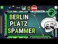 Mr Miss 8 Ball Pool - Berlin Platz Spammer Destroyed - Speako13 and Heartnet - Insane trick shots