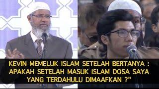 Kevin Mantap Untuk Memeluk Islam Di Acara Dr  Zakir Naik Bandung