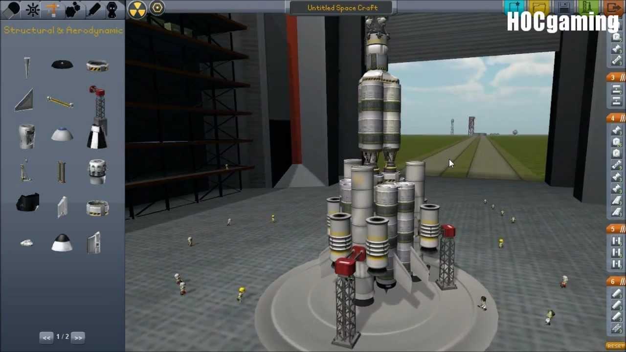 Kerbal Space Program: Ship Build: Docking - an Apollo ...