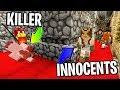 OMG I ALMOST GOT CAUGHT KILLING HER !! (Best Round Ever) : Minecraft Murder Mystery 2