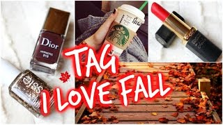 TAG : I ♡ FALL 🍂│PerfectHonesty Thumbnail