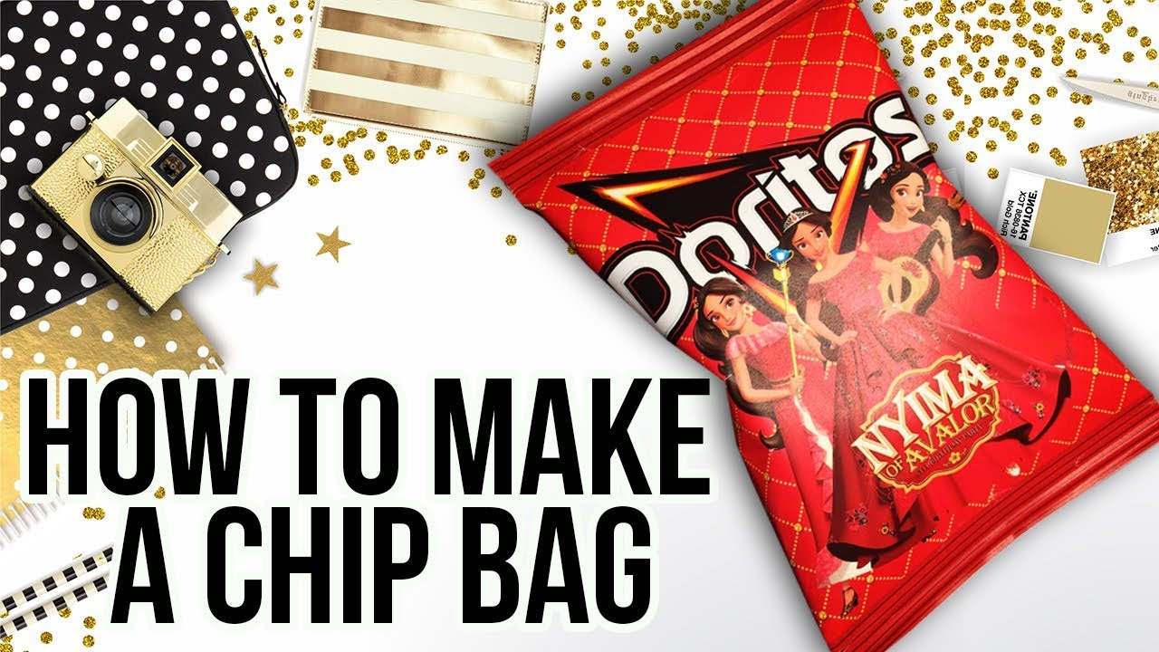 image regarding You're All That and a Bag of Chips Printable known as How towards Deliver a Chip Bag