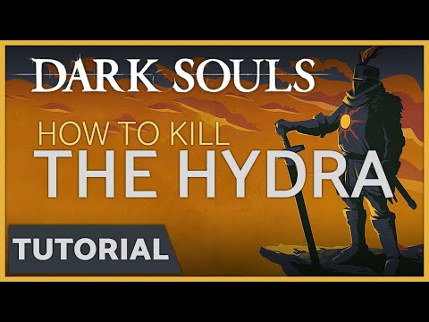 Dark Souls: How to Kill the Hydra in the Darkroot Basin Easily & get the Dusk Crown Ring