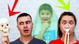 Рома СНОВА Как ПРИВЕДЕНИЕ! Разыгрывает МАМУ и ПАПУ! Родители Испугались!