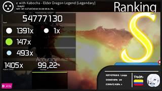 osu!catch | Titan- | Elder Dragon Legend (LEGENDARY) t+pazolite with Kabocha | 1xMISS 8.14 ★
