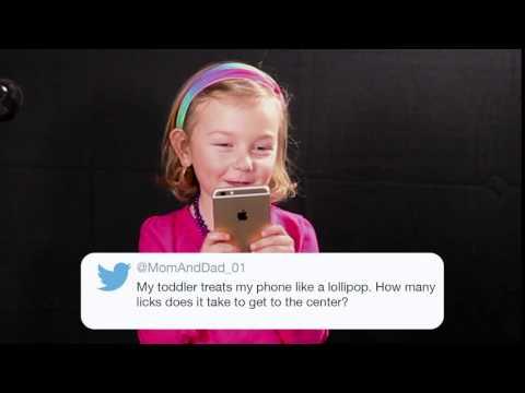 Parent Tweets Read by Kids - Lollipop