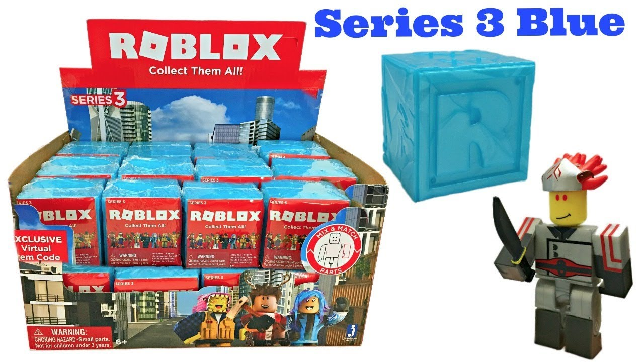 Roblox Toys Series 3 Blue Blind Boxes Amp Codes Full C