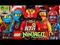 Todas las minifiguras LEGO NYA NINJAGO, revisión de la colección de juguetes raros y exclusivos.