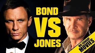 INDIANA JONES VS. JAMES BOND - Who Would Win?