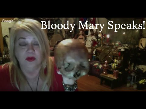 The Bloody Mary Show :Enter the Spirit Realm (Voodoo Paranormal Chat)