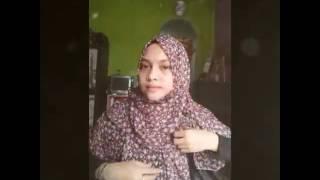 Tetorial jilbab Hana|iseng