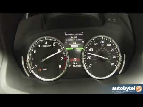 2015 Acura TLX SH-AWD 0-60 MPH Test Video
