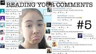 READING YOUR COMMENTS #5 | just tomboy things