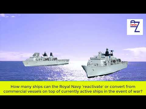 How many ships can the Royal Navy 'reactivate' or convert