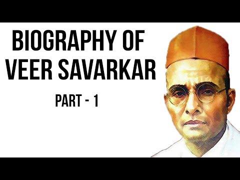 Vinayak Damodar Savarkar biography Part 1 वीर सावरकर की जीवनी Revolutionary freedom fighter of India