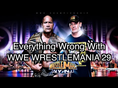 Episode #128: Everything Wrong With WWE WrestleMania 29