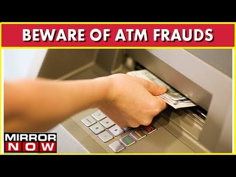 ATM Fraud At Two Private Bank ATM's, 88 People Robbed, 27 Lakh Gone