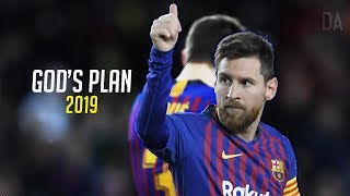 Leo Messi - 'GOD'S PLAN' - Sublime Dribbling Skills and Goals 2019