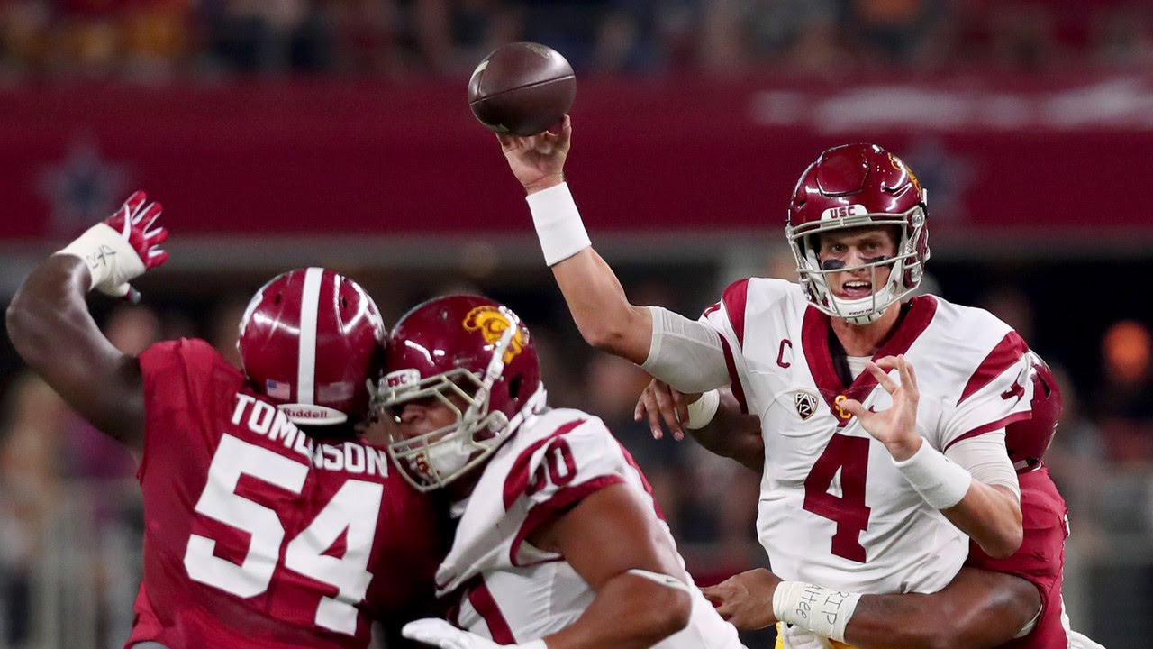 USC comeback falls short in loss to rival Notre Dame football