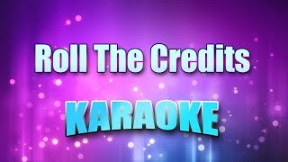 Paula Deanda - Roll The Credits (Karaoke version with Lyrics)