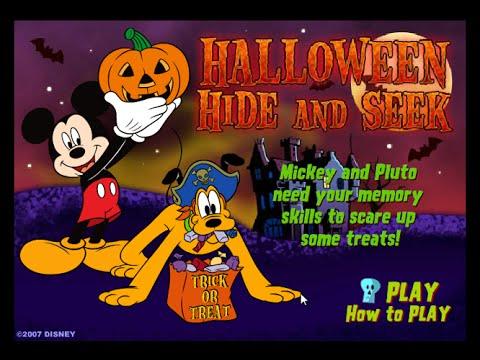 Mickey And Friends Halloween Hide N Seek Mickey Mouse