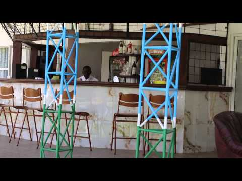Gambie Banjul Restaurant et pause / Gambia Banjul Restaurant and pause