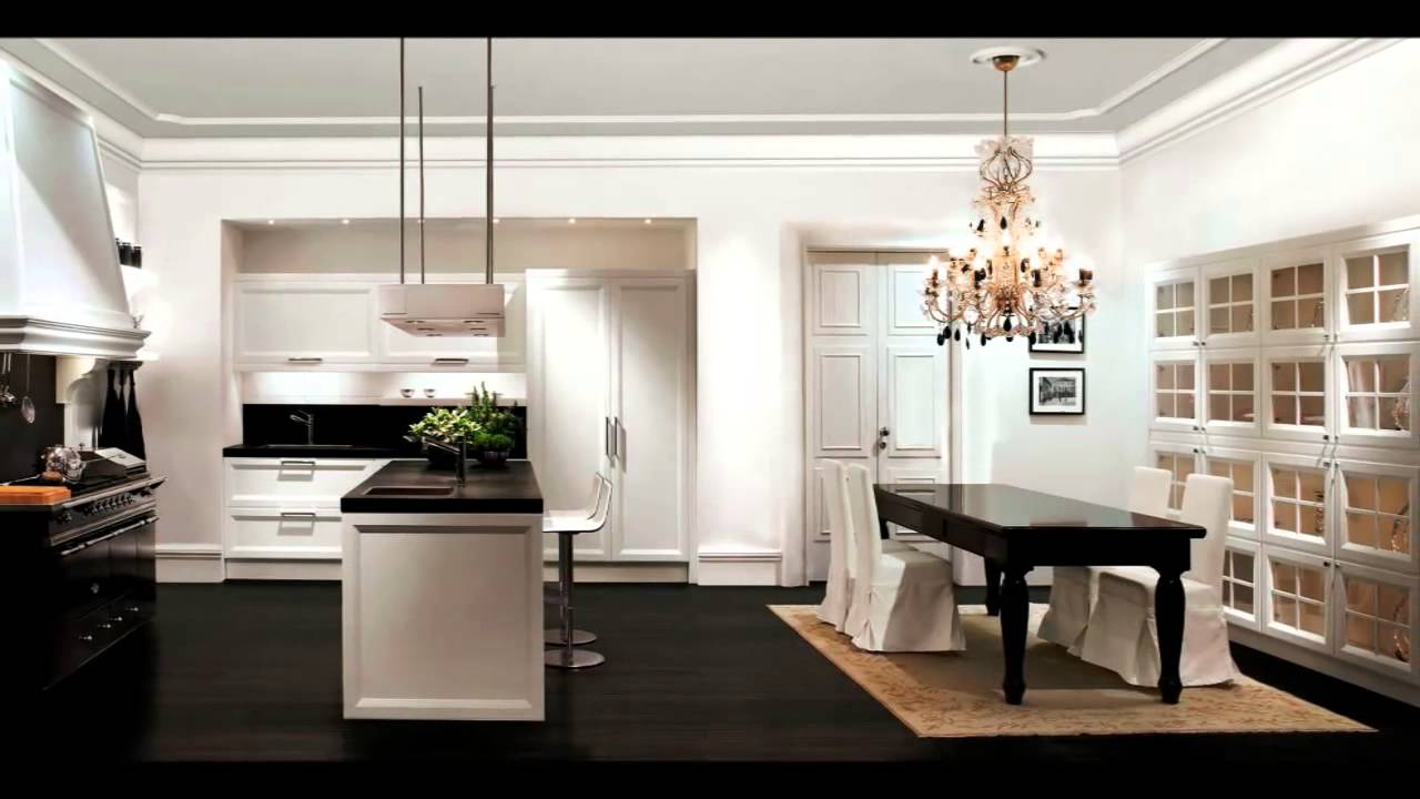 Le pi belle cucine moderne youtube for Cucine bianche moderne