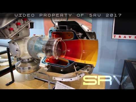 APU Titan T 62 Gas Turbine In Motion Internal Cutaway View